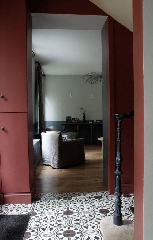 Marsala Pantone couleur 2015 magnifique associé à du gris!