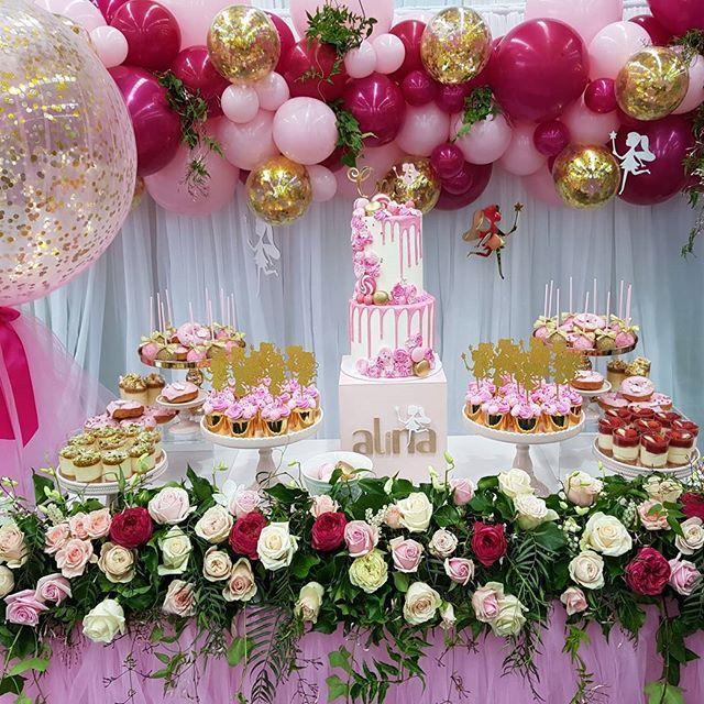 Ideas tem ticas para fiesta primer a o de tu hija - Decoracion primer cumpleanos ...