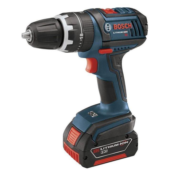 Bosch 18-Volt Compact Tough Hammer Drill Driver with