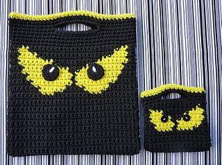 Spooky Eyes Halloween Bags