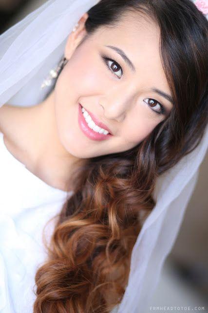 Natural make up Korean bride