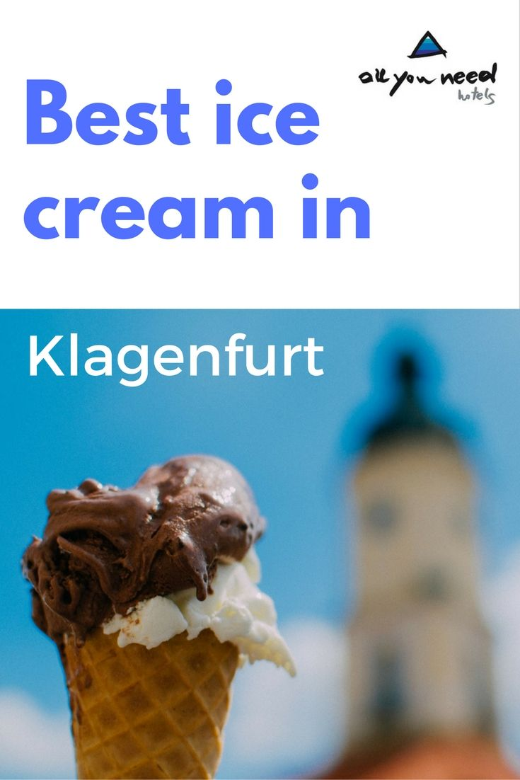 Our top 3 ice cream parlours in Klagenfurt https://www.allyouneedhotels.at/en/hotel-services/news/article/top-3-eissalons-klagenfurt/