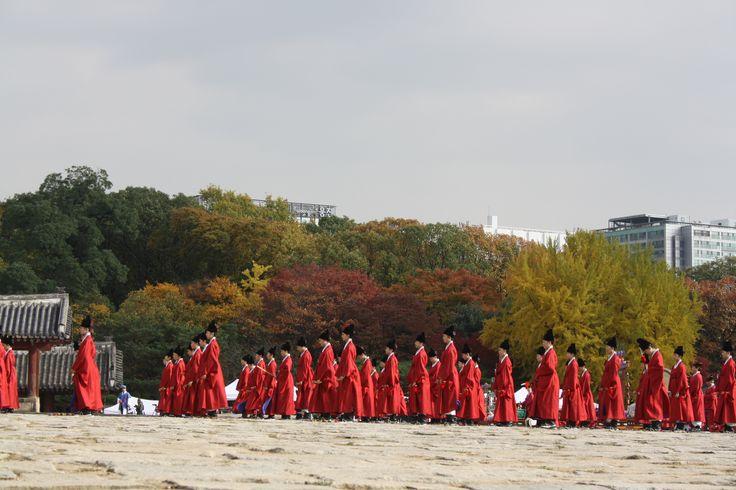 ceremonia en otoño