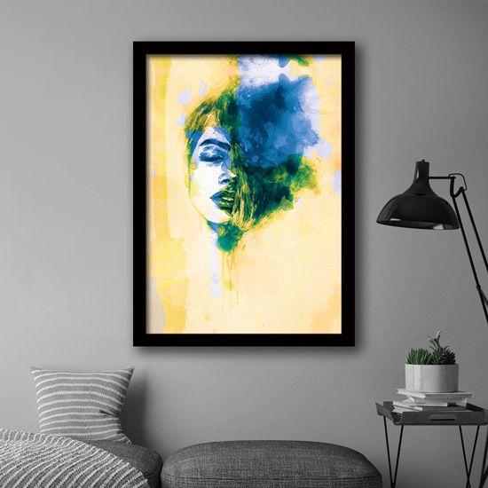 Πίνακας γυναίκα μελάνι. Διακοσμήστε τον χώρο σας με μοντέρνα τέχνη. #artphotos #πίνακας #modernart #woman