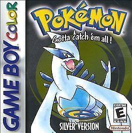 Pokemon Silver Version (Game Boy Color GBC) cartridge only