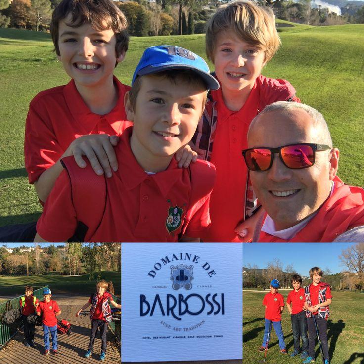 Team RED 2S Golf Ecole de Golf  Riviera golf de Barbossi  belle découverte du parcours