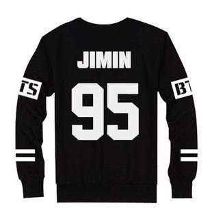 BTS в этом же моделье свитер противо бомба молодой группа периферия шерсть круглый вырез нет крышки свитер JIMIN V играть петь может должен помощь одежда
