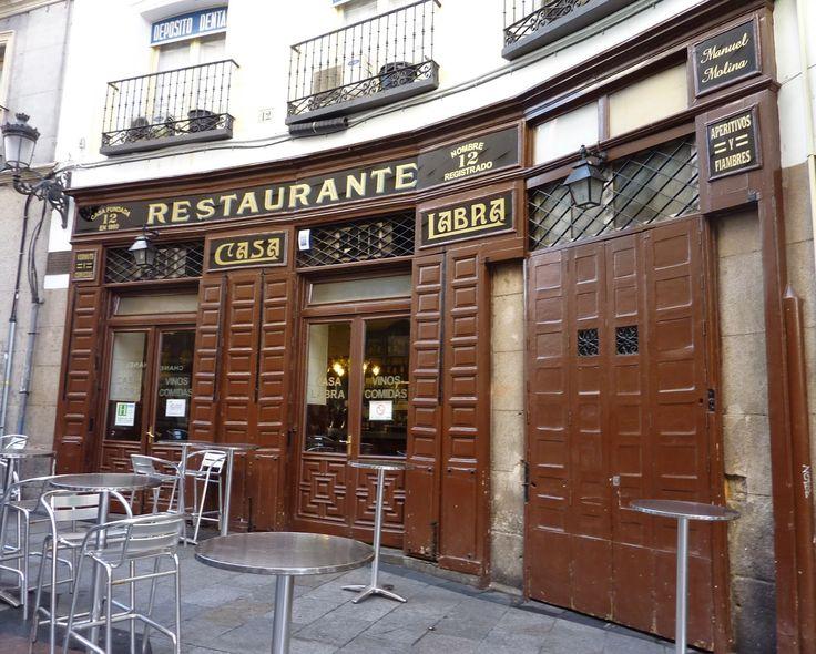 Casa Labra - C/Tetuán, 12 - Madrid