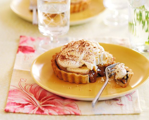 Banoffee tart, Tarts and Tart recipes on Pinterest