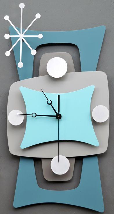 mid century clock - Google Search