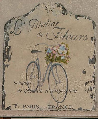 l'atlier de fleurs.  french flower workshop by castleandcottage on Flickr