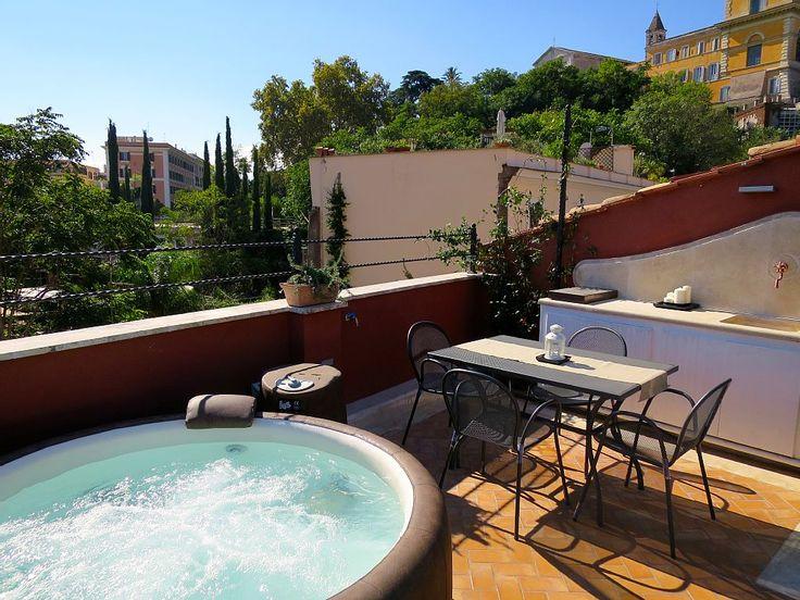 Apartamento para 4 personas en el corazón de Roma, en Trastevere