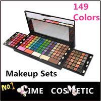 Regalo de la manera cosmética de sombra de ojos 144 del color y brillo de labios Fundación Blush Maquillaje Juegos de Maquillaje Sombra de Ojos Set , Dropshiping