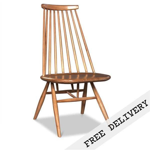 Modern Danish Spindle Dining Chair