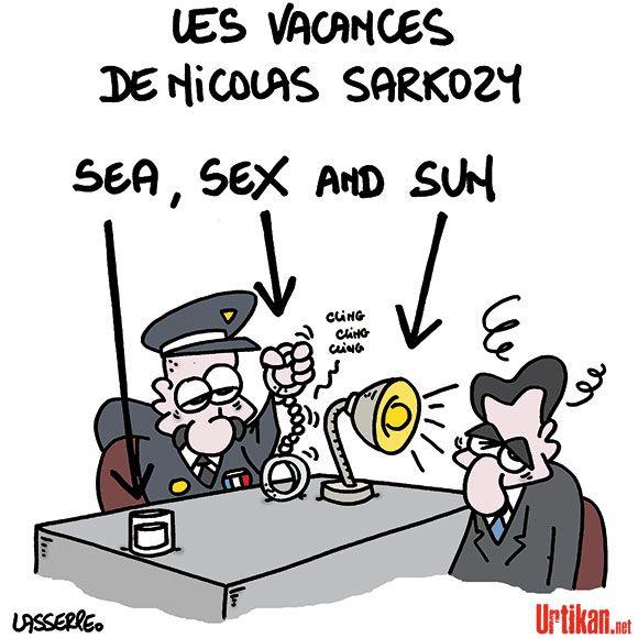 Nicolas Sarkozy mis en examen - Dessin du jour - Urtikan.net