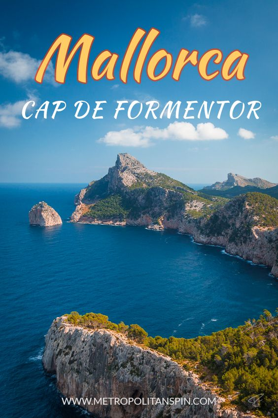Need a change of scenery? How about a trip to the Cap de Formentor ? #europe #mallorca #travel
