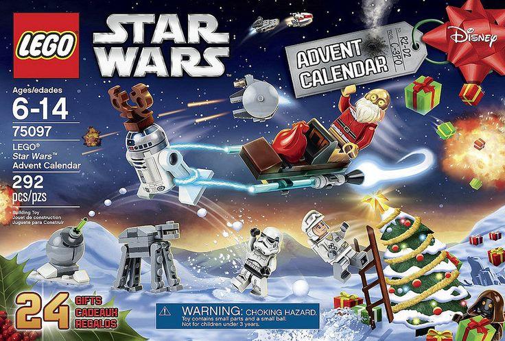 LEGO Star Wars 2015 Advent Calendar (75097) | da www.giocovisione.com #LEGO #LEGOStarWars #StarWars #legoadventcalendar #adventcalendar #legonews ##legochristmas #christmas #santaclaus