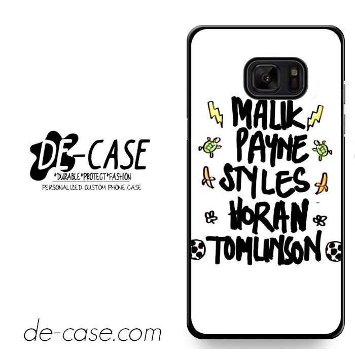 One Directin Names DEAL-8189 Samsung Phonecase Cover For Samsung Galaxy Note 7