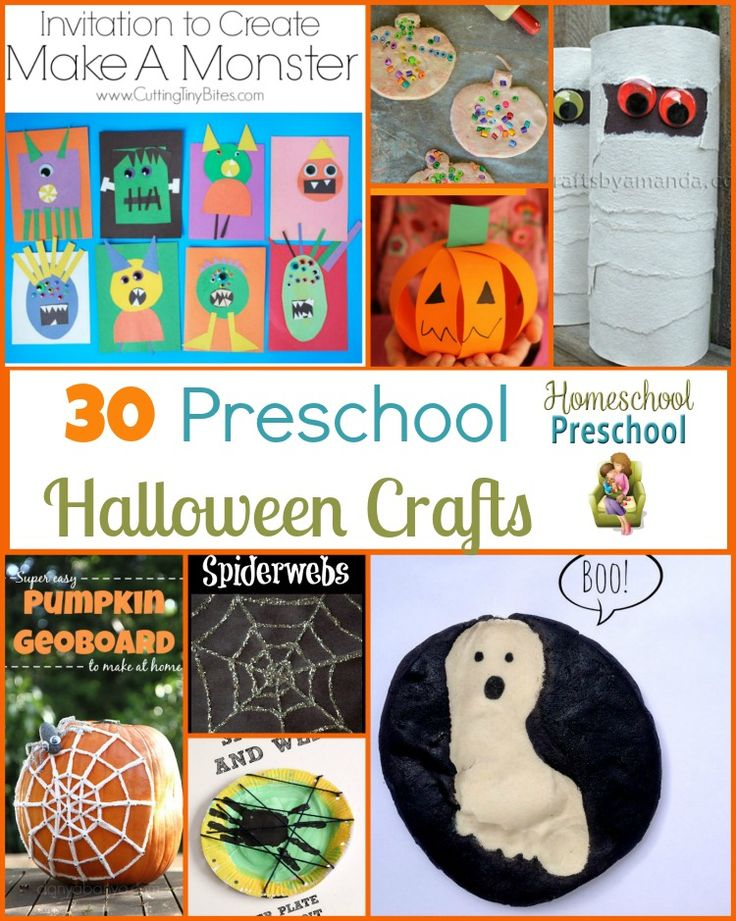 30 preschool halloween craft ideas - Preschool Halloween Crafts Ideas