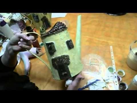 23 день Университета Декупажа Апрельская сессия Валентина Сухова - YouTube