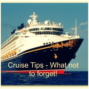 Cruise Preparation – SO Smart – Things to Remember to Bring on Your Cruise!  Not your average packing list!