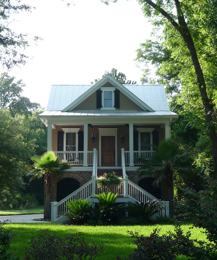 Southern Cottage House Plans: 28 Best Houses On Pilings Images On Pinterest