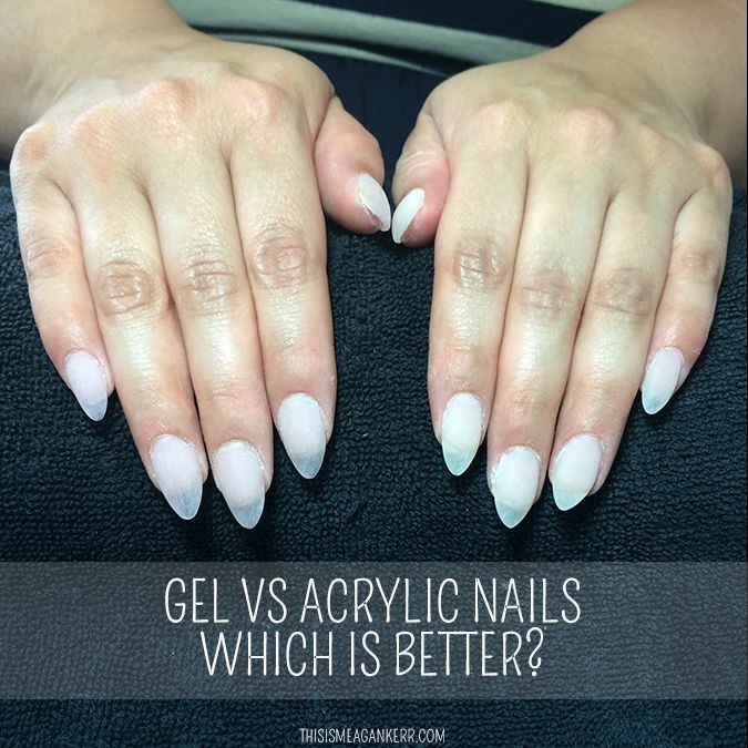 Liquid Gel Nails Vs Acrylic This Images Was Upload On January 17 2017 By Angel Bro