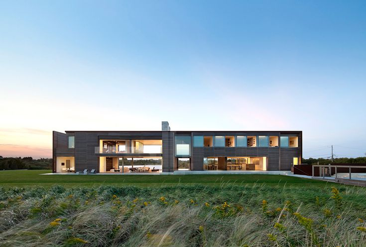 bates masi   architects carves a home for six at sagaponack