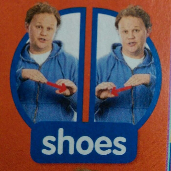 Shoes - Makaton / Sign / Mr Tumble / Something Special