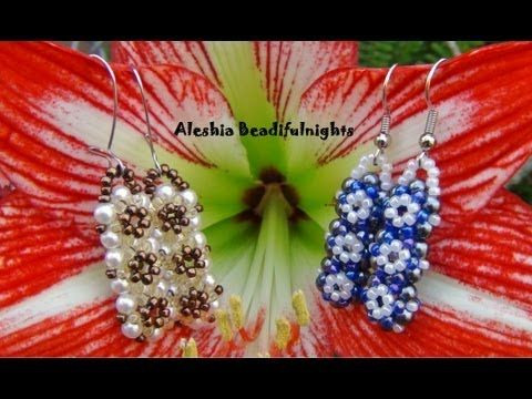 Trinity Beaded Earrings Tutorial