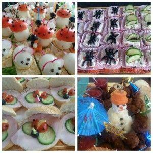 Platou aperitive diverse cu ornamente