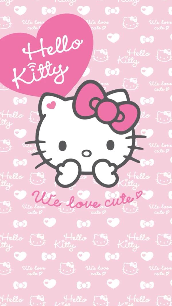 456 besten hello kitty wallpaper bilder auf pinterest. Black Bedroom Furniture Sets. Home Design Ideas
