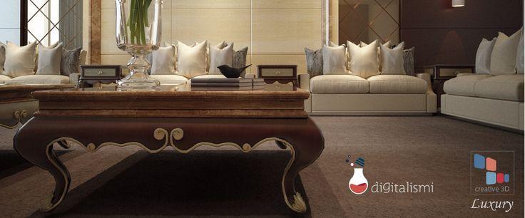Luxury interior render
