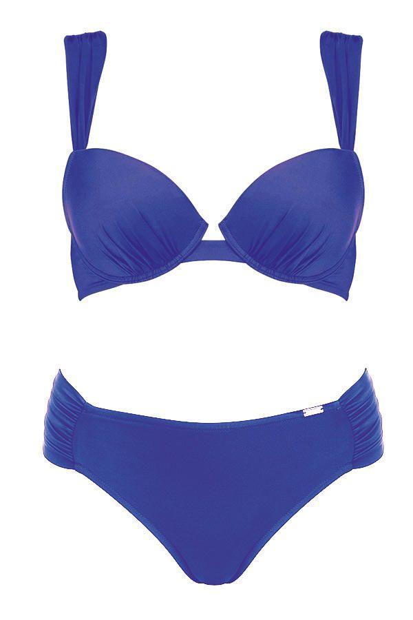 Swimmingpool: Bikini mit Shaping-Hose (Triumph, um 95 Euro)