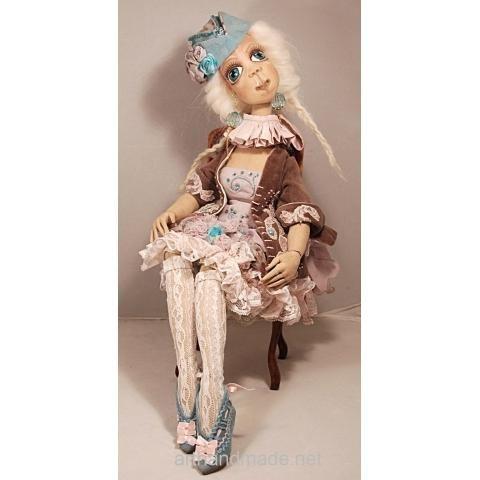 Textile doll Vanda, BJD. Author Marysia Semitsvet - http://arthandmade.net/marisya.semicvet  Doll, ball-jointed doll, BJD, collectible doll, handmade doll, gift, original gift, craft, handmade, collection, Gallery Magical World, кукла, купить куклу, шарнирная кукла, коллекционная кукла, кукла ручной работы, подарок, оригинальный подарок, ручная работа, коллекция, Галерея Волшебный мир