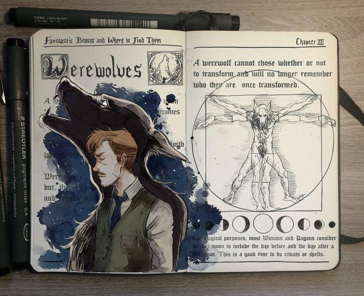 "lohrien: "" Harry Potter illustrations by Gabriel Picolo dA l tumblr l FB l instagram l patreon """
