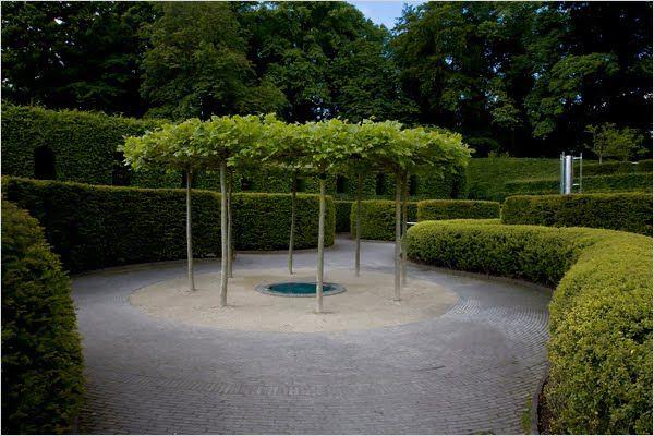 jacques wirtz / alnwick castle garden
