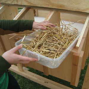 Easy Clean Chicken Coops - nest boxes