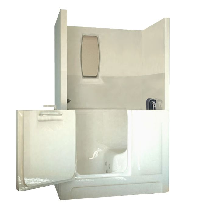 The Sanctuary Medium Shower Enclosure Walk In Tub Will Allow Any User To  Enjoy Either A