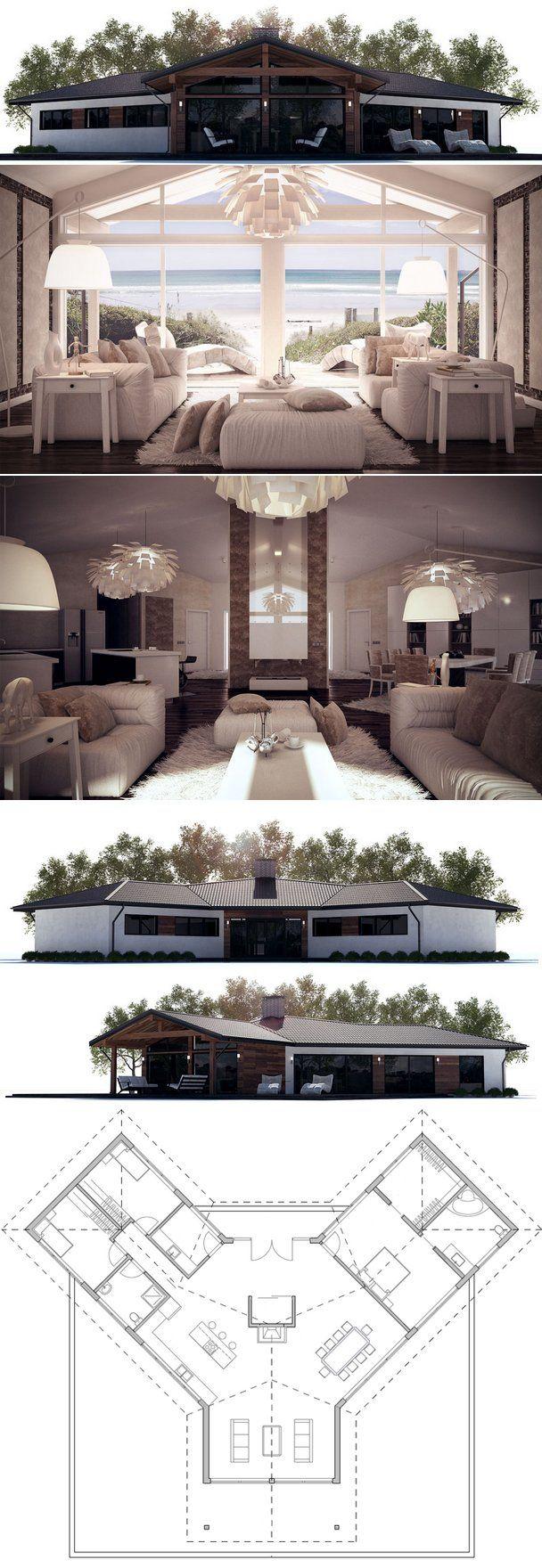 House Plan from ConceptHome.com. Small Home Design