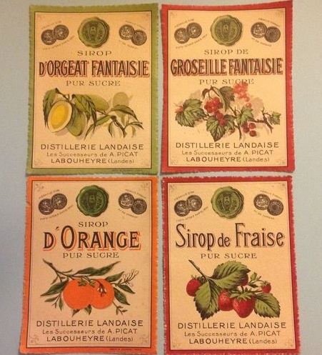 syrup vintage Label Sticker | Vintage Labels | Pinterest