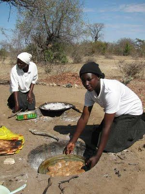 It Takes A Village...: Zimbabwe: Rural women bake bread in an innovative oven