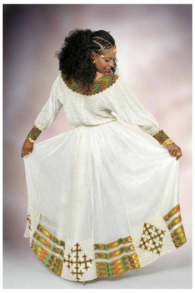 17 best images about habesha dresses on pinterest for Habesha dress for wedding