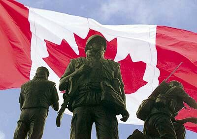 The canadian peace keeping group is a military sqaud that countries in any way they can. They try to avoide useing violence to decrese the death thst happen in certain areas, they with only use violence if needed, like if theyre being attacked.