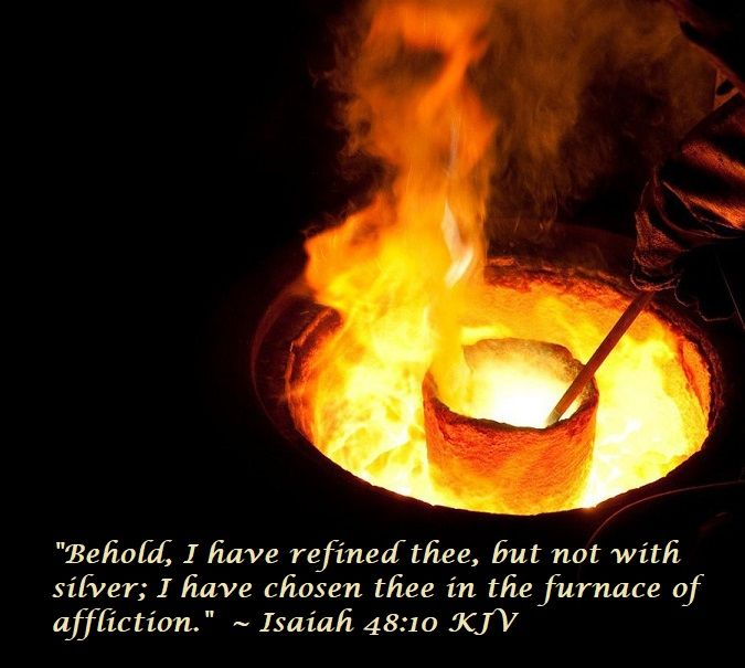 """Refiner's Fire"""" by Brian Doerksen https://www.youtube.com/watch?v=9Y8zP34AhuU #verseoftheday #trials #refin…  