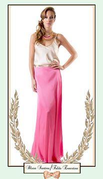 Look con faldas largas para fiestas Mimille Lolièe verano 2014
