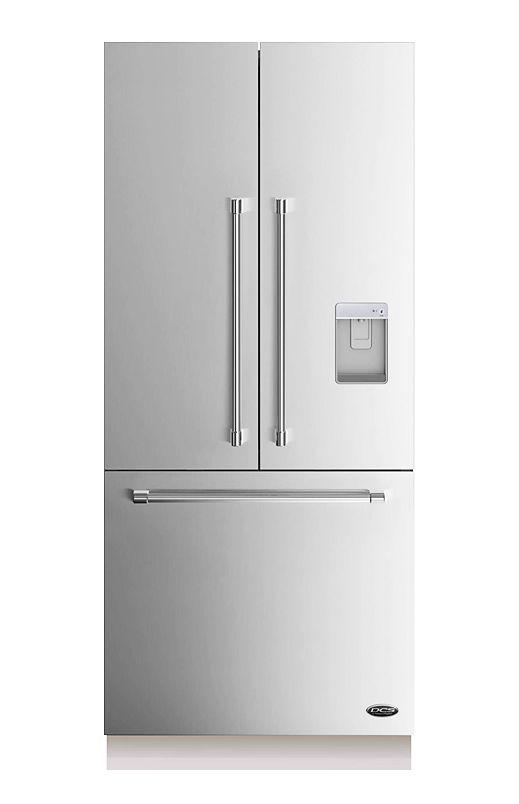 Réfrigérateur Congélateur dans le bas et portes françaises DCS - RS36A80UC1 #Cuisine #Réfrigérateur #Acierinoxydable #Luxe #Kitchen #Refrigerator #Inox #Luxury