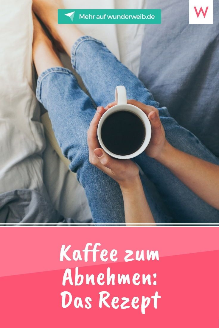 Kaffee zum Abnehmen: Das leckerste Fatburner-Rezept