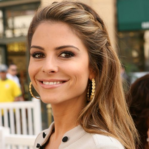 Aaaaand officially obsessed with Maria Menounos and her hair