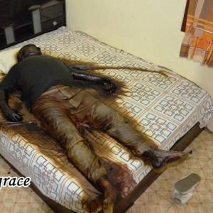 127 best images about death autopsy graphic on pinterest for Cleaning out house after death